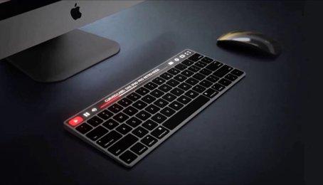 MacBook mới có thể trang bị màn hình trên từng phím
