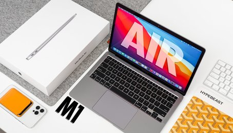 APPLE MACBOOK AIR VỚI CHIP M1: CHIP MỚI NHƯNG CHẲNG CÓ GÌ PHẢI LO NGẠI