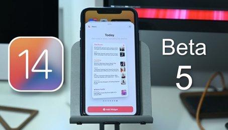 iOS 14 beta 5 có gì mới?