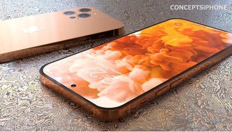 Hé lộ concept iPhone 14 với màu sắc mới, thiết kế mới!
