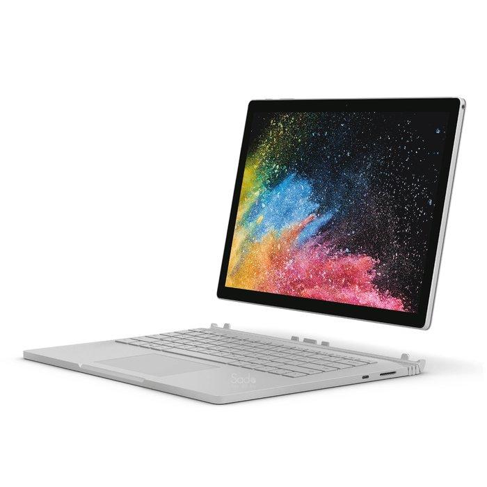 "Microsoft Surface Book 2 13.5"" Core i7-8650U GTX 1050 RAM 16GB 512GB SSD"