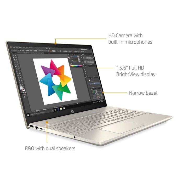 "HP Pavilion-CS3075WM 15.6"" FHD i7-1065G7 1.3GHz 8GB RAM/512GB SSD"