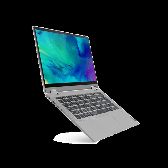 "LENOVO IDEAPAD FLEX 15IML 2-IN-1 LAPTOP/TABLET 14"" FHD TOUCH I5-1035G1 16GB 512GB SSD WEBCAM FINGERPRINT READER WINDOWS 10 HOME"
