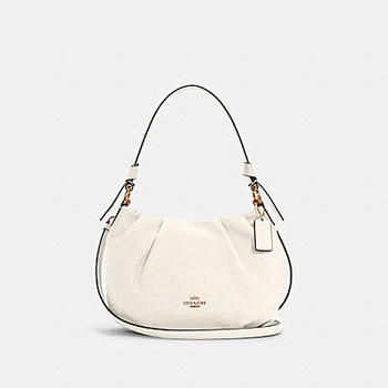 Everly Shoulder Bag White