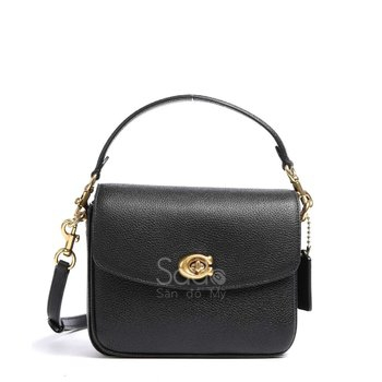 CASSIE 19 CROSSBODY BAG GRAINED COW LEATHER BLACK