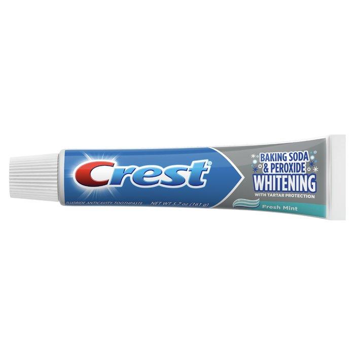 Kem Đánh Răng Crest Whitening Baking Soda and Peroxide, 5.7 oz, 3 Pack