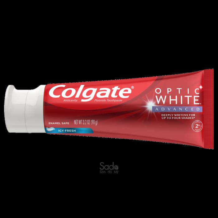 Kem đánh răng làm trắng răng Colgate Optic White Icy Fresh3.2 Oz3 pack