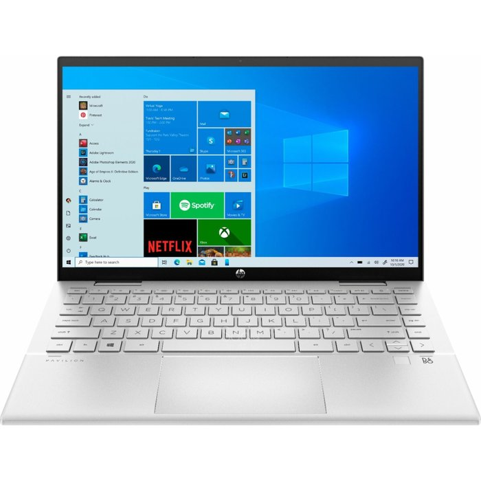 HP - PAVILION 2-IN-1 14m-dy0013dx - TOUCH-SCREEN- INTEL CORE I3 - 8GB MEMORY - 256GB SSD - NATURAL SILVER